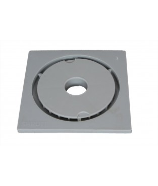Abs Floor Trape ,Holwali Drain Cover - Grey