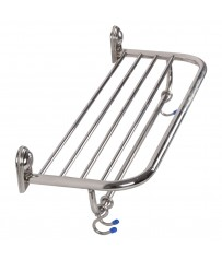 SS Heavy Duty Classic Concealed Towel Rack