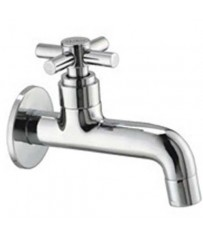 Acess Model Long Body BibCock / Taps With Wall Flange