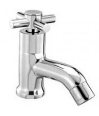 Acess Model Pillar BibCock / Taps With Wall Flange
