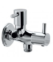 Alter Model Two way angle cock/taps with wall Flange