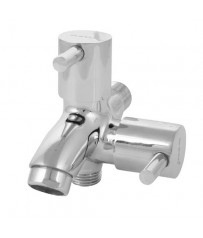 Alter Model Two way stop cock/taps with wall Flange