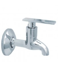 Avon Model Short Body BibCock / Taps With Wall Flange