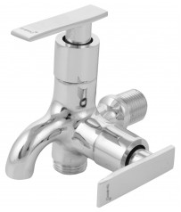 Avon Model Two way stop cock/taps with wall Flange