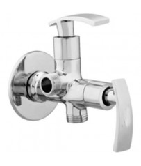Glow Model Two way angle cock/taps with wall Flange
