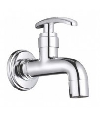 Mestro Model Short Body BibCock / Taps With Wall Flange