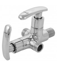 Mestro Model Two way angle cock/taps with wall Flange